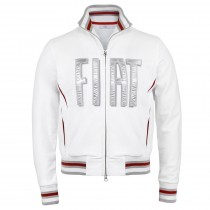 FIAT white men's Sweat Shirt with Logo