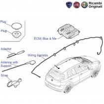 Fiat Punto: Wiring Harness Antenna & ECU