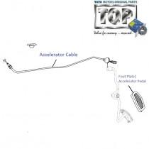 Accelerator Cable| 1.4 TDI| Indigo| Indigo CS| Indigo Marina