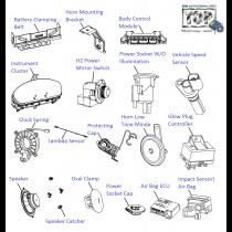 Electrical Equipments  1.3 Quadrajet  Vista Sedan Class