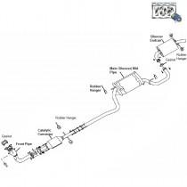 Exhaust Piping| 1.4 Petrol| Indigo Marina