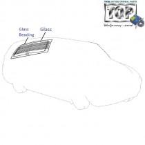 Glass| Rear Boot Door| 1.4 DICOR| Indigo Marina