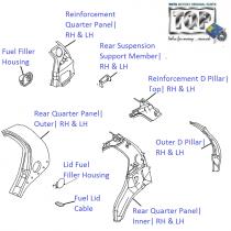 Rear Quarter Panel  Indica V2