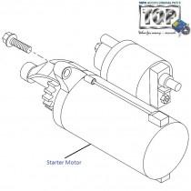 Starter Motor  1.3 QJet  Vista D90