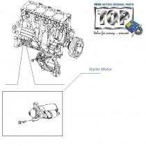 Starter Motor  2.2L VariCOR  Safari Storme
