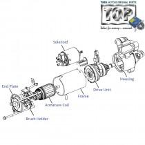 Starter Motor Components  1.4 TDI  Vista  Vista Sedan Class