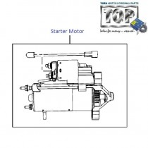 Starter Motor  1.4 CR4  Indica eV2
