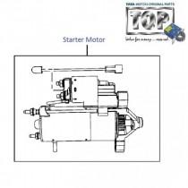 Starter Motor  1.4 TDI  Vista  Vista Sedan Class