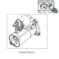 Starter Motor  1.4 Safire  Vista  Vista Sedan Class