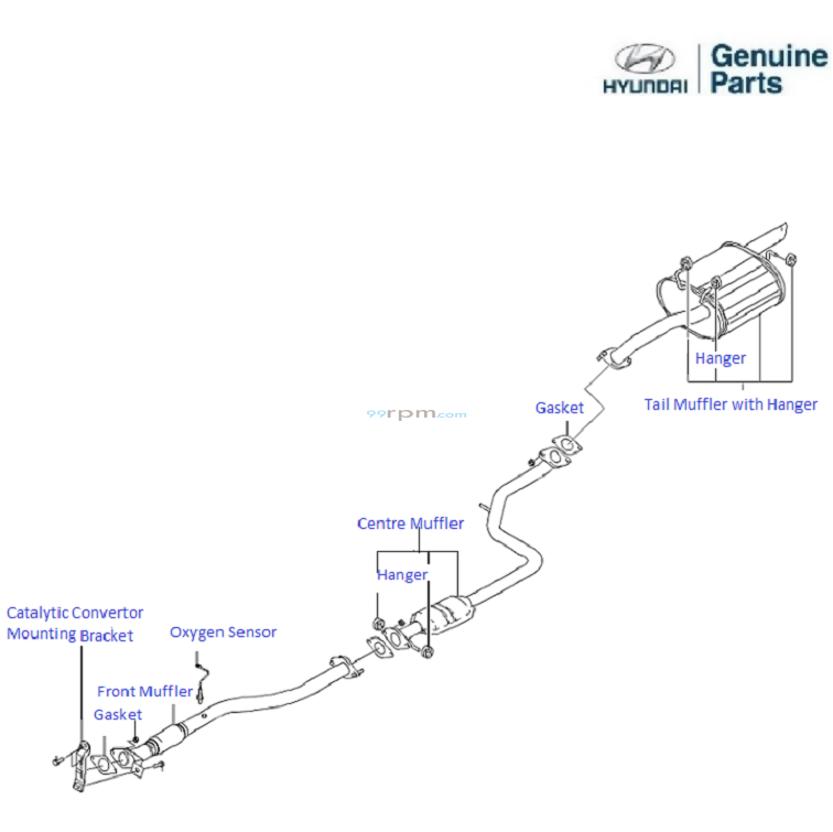 Incredible Hyundai Accent Executive 1 5 Petrol Exhaust Pipe Wiring Database Gentotyuccorg