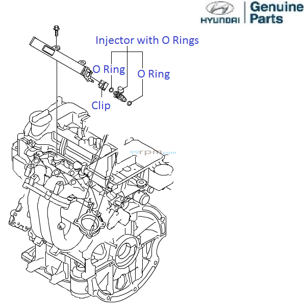 hyundai grand i10 1 0 petrol  fuel injectors
