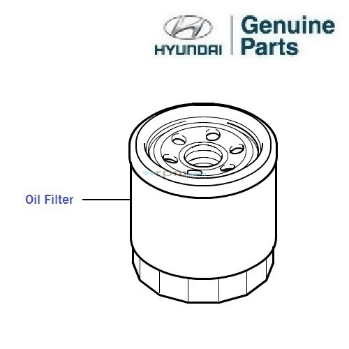 Hyundai Grand I10 1 0 Petrol Oil Filter