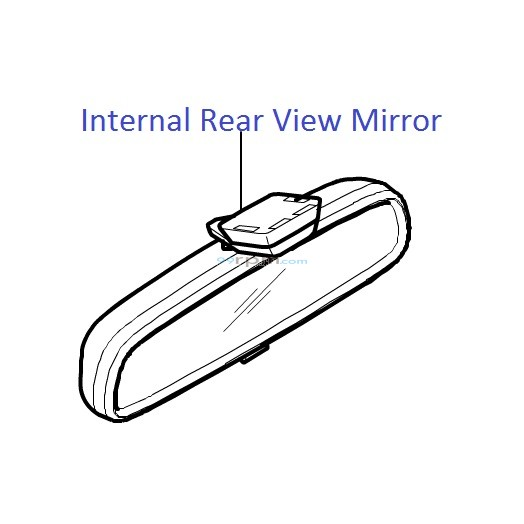 Hyundai I20 Internal Rear View Mirror