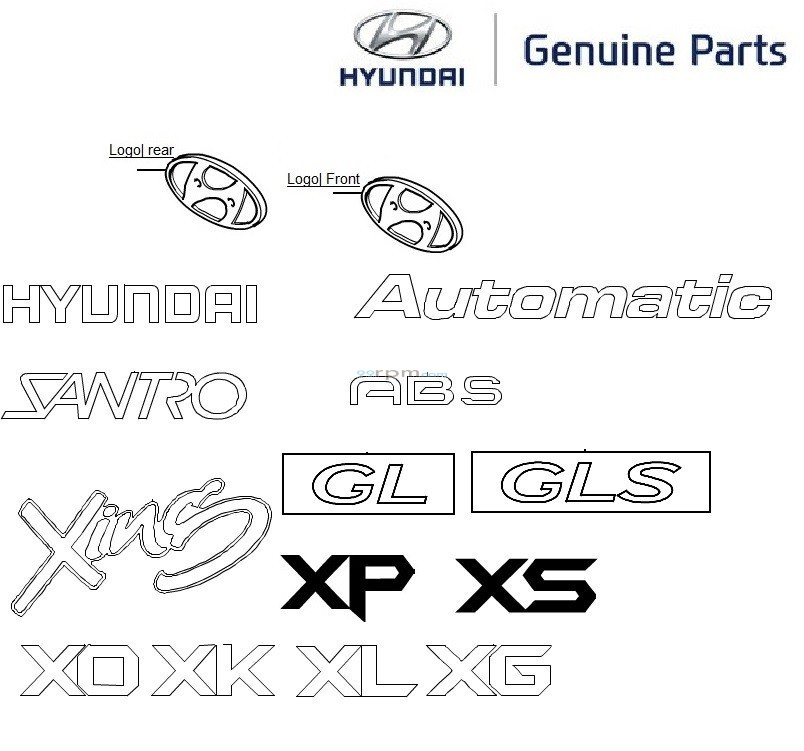 logos_santroxing_1 hyundai santro xing logos and monograms  at readyjetset.co