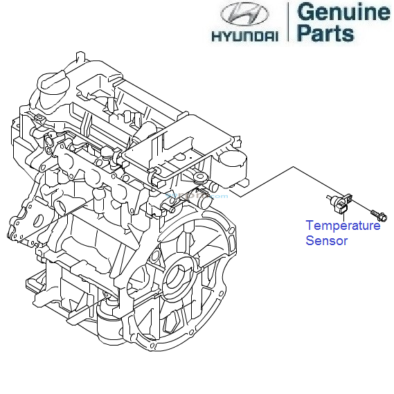 hyundai grand i10 1 2 petrol  temperature sensor
