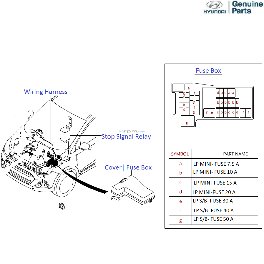 Fuse Box Labels Kit Trusted Wiring Diagrams Hyundai Grand I10 1 2 Petrol Front Label Pdf
