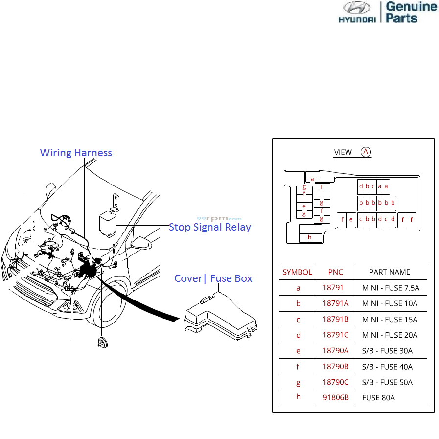 Wiring Diagram Hyundai I10 Electrical Diagrams 2012 Accent Fuse Box Horn Enthusiast U2022 2005