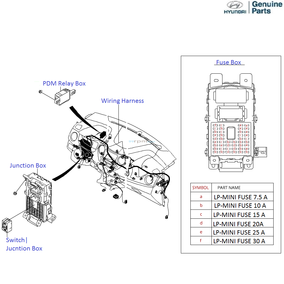 Hyundai Grand I10 12 Petrol Dashboard Wiring Diagram A C Condenser Parts Pnf