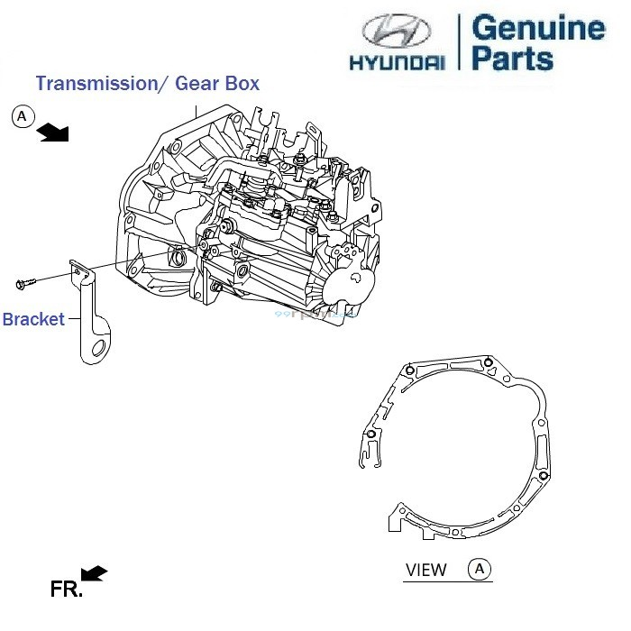 Lower Control Arm Front I20 together with 2008 Impala 3 5l Parts Diagram additionally Transmission Casing 1 5 Crdi Getz Prime besides Front Bumper 1 2 Petrol Grand I10 as well Hyundai Santa Fe Transmission Diagram. on genuine hyundai parts