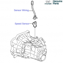 Speed Sensor - Gearbox Componants - Transmission - Parts