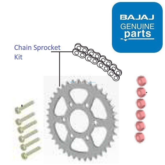 Bajaj Dominar 400 Drive Chain Amp Sprocket Kit