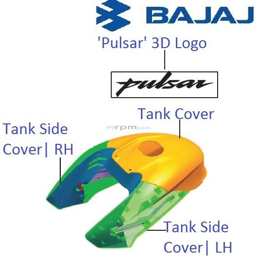 Bajaj Pulsar 200NS: Petrol Tank Cover