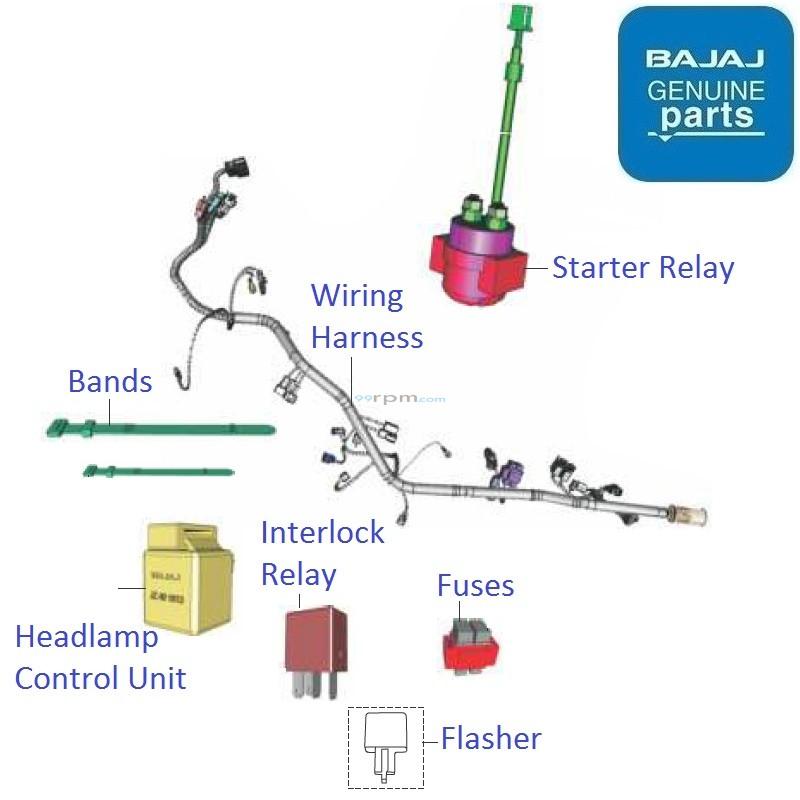 Fabulous Bajaj Pulsar Ns200 Bs4 Dtsi Wiring Relays Wiring Digital Resources Bemuashebarightsorg