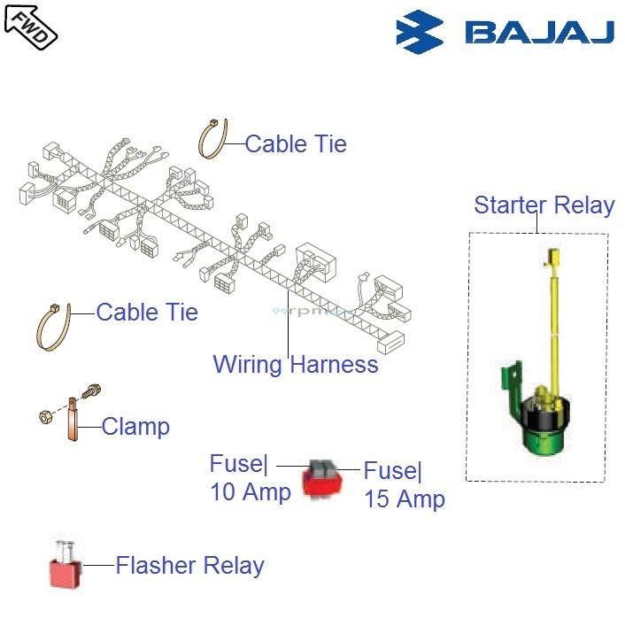 bajaj avenger cruise 220 dts i wiring relays rh 99rpm com Car Horn Wiring Diagram Wolo Air Horn Wiring Diagram